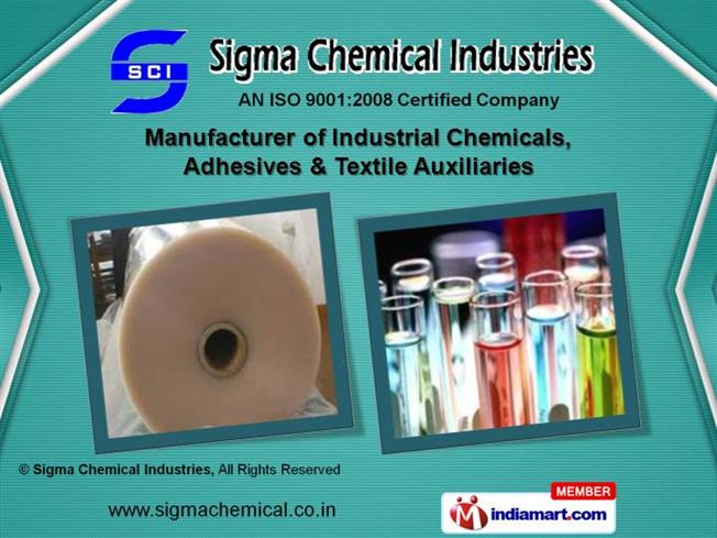 Textile Speciality Chemicals by Sigma Chemical Industries