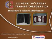 Leather Laptop Bag by Colossal Overseas Trading Corporation