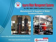 Water Treatment Plants by Apurva Water Management Systems, Ahmedabad