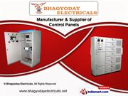 Electrical Control Panels & Boards by Bhagyoday Electricals, Ahmedabad