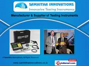 Industrial Testing Equipments by Samhitha Innovations, Bengaluru