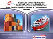 Air Freight Services by Multinational Logistics & Express Services