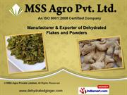 Dehydrated Spices & Flakes by MSS Agro Private Limited, Lucknow
