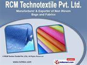 Non Woven Products & Services by RCM Techno Textile Pvt. Ltd., Surat