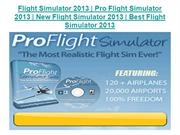 Flight Simulator 2013 - Pro Flight Simulator 2013