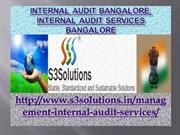 Internal Audit Bangalore, Internal Audit Services Bangalore - s3soluti