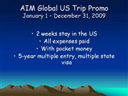 AIM Global US Trip Promo4