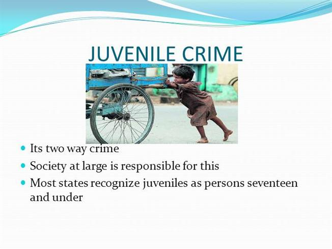 juvenile crime authorstream