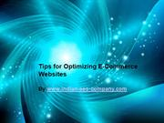 Tips for Optimizing E-Commerce Websites