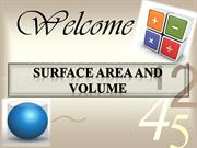surface area and volume-kirti pawar