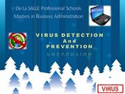 VIRUS DETECTION PREVENTION