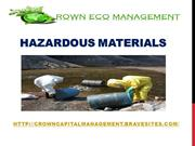 Crown Capital Eco  Management  - Hazardous Materials