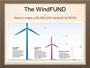 Prez - How to make a $2M Windmill for $150