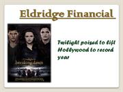 Twilight poised to lift Hollywood to record year