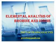 ELEMENTAL ANALYSIS OF BROMINE AND IODINE.ppt
