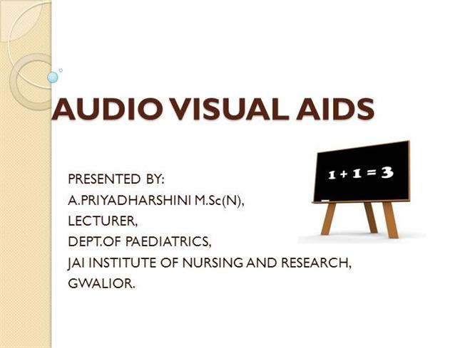 role of audio visual aids in teaching