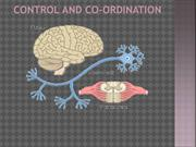 Control And Co-Ordination