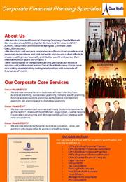 Oscar Corporate Planning Services Leaftet Ver 1