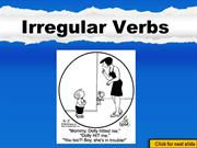 Verbs: Regular vs. Irregular