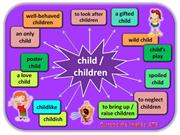 WORD FAMILIES - CHILD (#2)