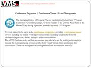 Conference Organisers | Conference Venue | Event Management