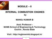 BASIC MECHANICAL ENGINEERING - I.C. ENGINES