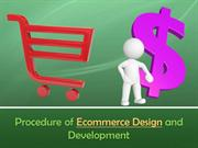 Procedure of Ecommerce Design and Development