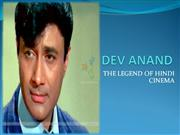 DEV ANAND-THE LEGEND OF HINDI CINEMA