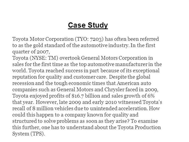 toyota motor corporation is a hybrid structure management essay Making a toyota is a lot like making a song each has layers of moving parts and pieces that need to come together perfectly now you can experience the sights and sounds of our manufacturing system like never before and create your own gifony remix.