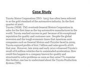 case study on toyota