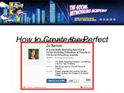 How to Create the Perfect Linkedin Profile