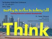 Yasser Mahgoub - Shaping the Skyline by Building Tall