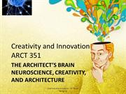 7Creativity and Innovation Lecture - The Architect's Brain - Ambiguity