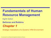 Ch01Strategic Implication of a Dynamic HRM Development