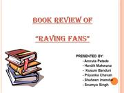 Raving Fans Book Review