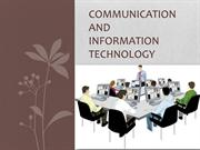Communication Technology(1)