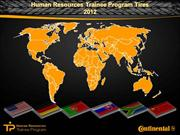 Human Resources Trainee Program 2012