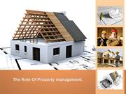 Real Estate and Property Management