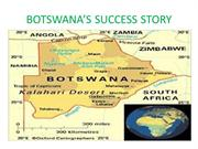 BOTSWANA'S SUCCESS STORY