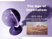 Age of Imperialism PPT