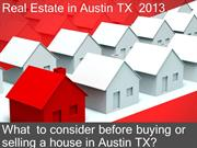 How to Buy and Sell Real Estate in Austin Texas