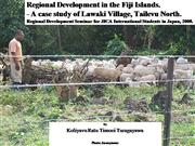 Regional Development in Fiji_JICA Semina