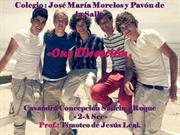 diapositiva de One Direccion