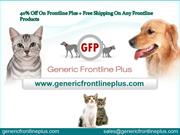 40% Off On Frontline Plus + Free Shipping On Any Frontline Products