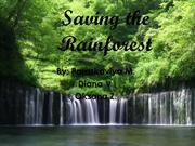 Saving the Rainforest