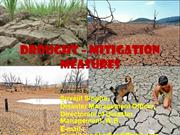Drought – Mitigation Measures