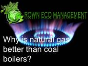 Crown  Capital Eco Management - Why is natural gas better than coal bo