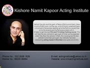 Kishore Namit Kapoor Acting Institute