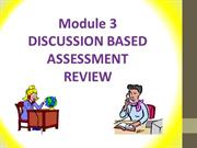Oral exam review for module 3