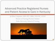Advanced Practice Registered Nurses